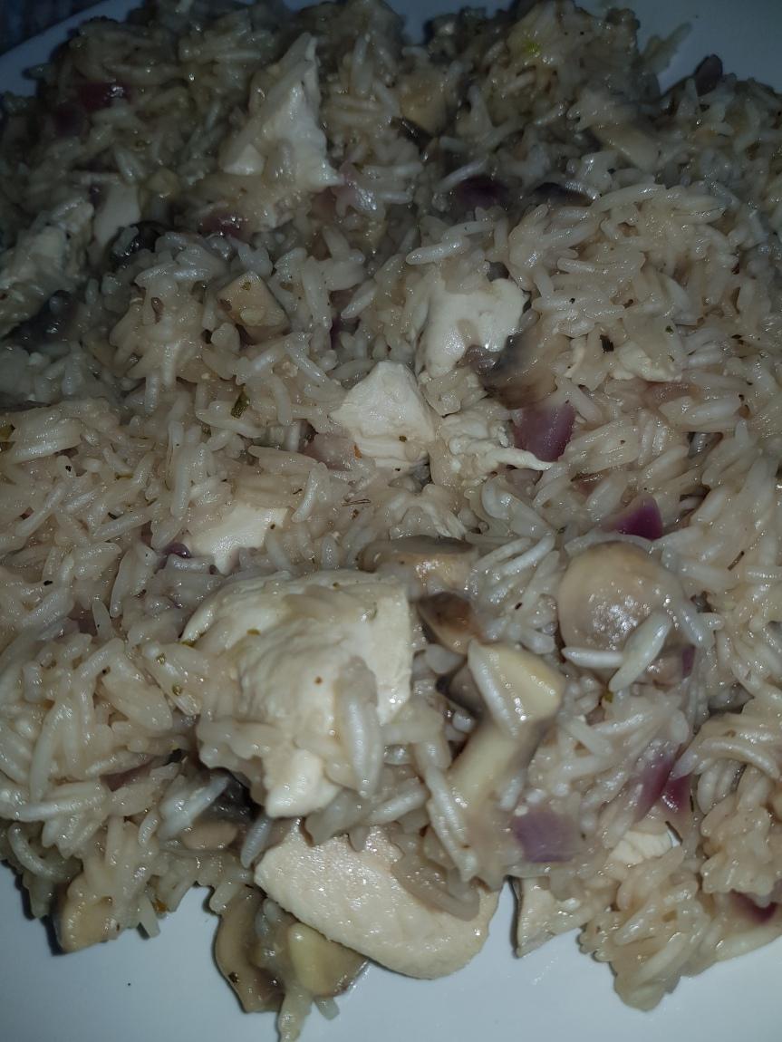 Chicken & MushroomPilaf