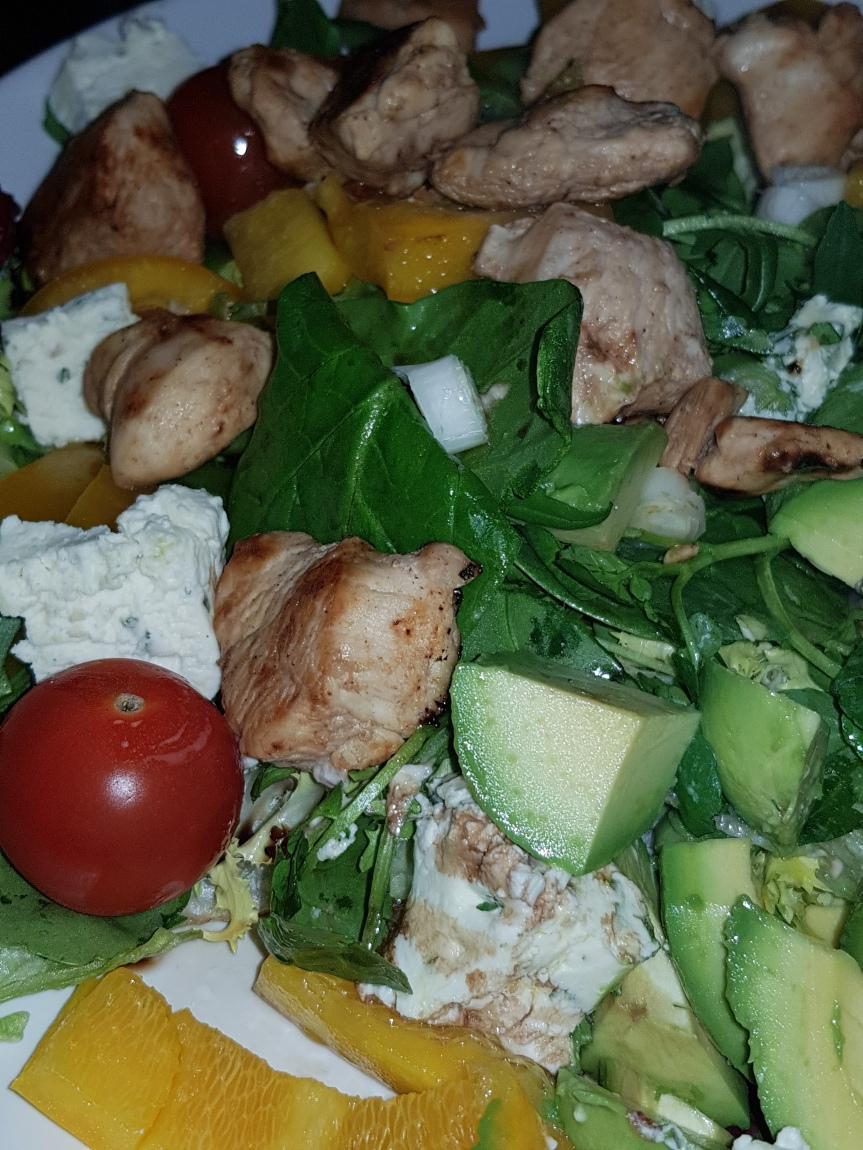 Healthy Warm ChickenSalad