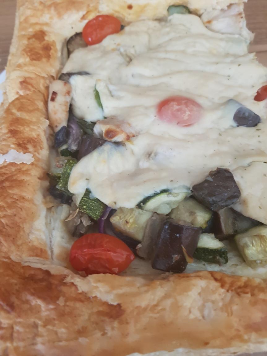 Upside-Down Chicken Pie