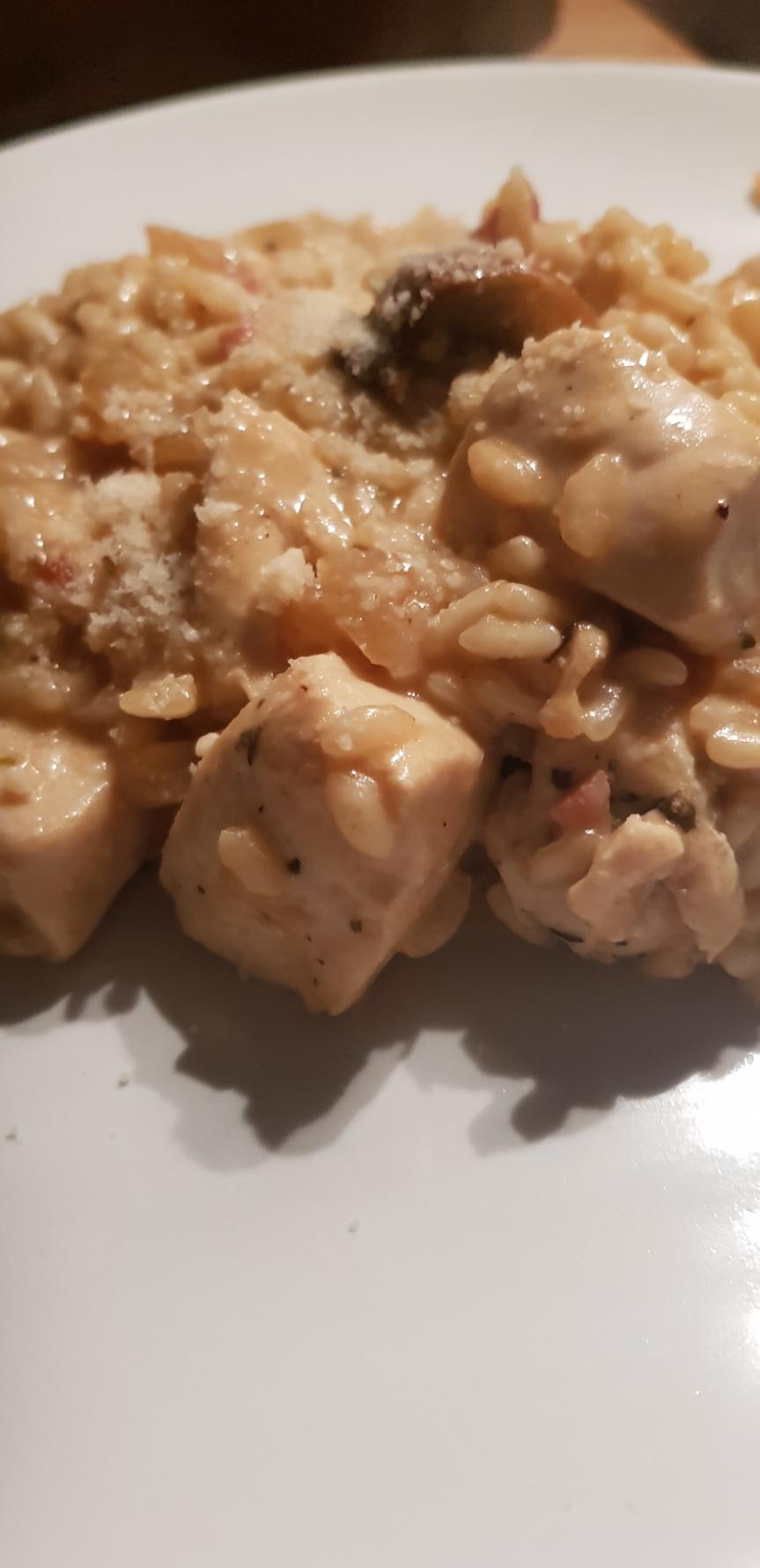 Chicken & MushroomRisotto